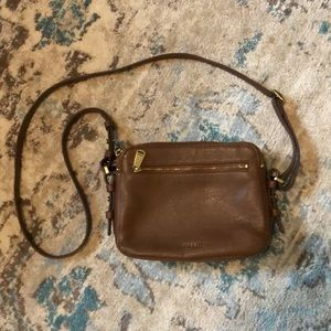 Fossil Leather Toaster Crossbody
